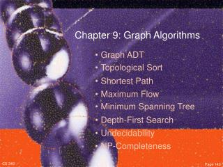 Chapter 9: Graph Algorithms