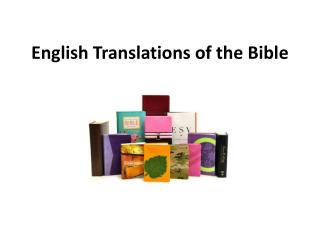 English Translations of the Bible