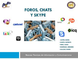 FOROS, CHATS Y SKYPE