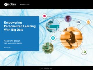 Empowering Personalized Learning With Big Data