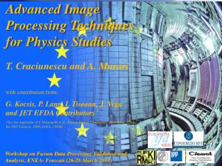 Advanced Image Processing Techniques for Physics Studies