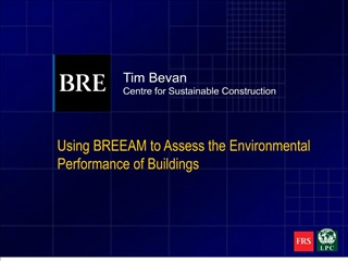 General BREEAM presentation