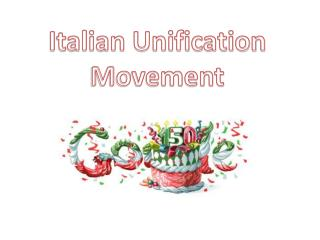 Italian Unification Movement
