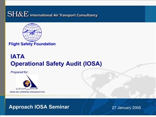 IATA Operational Safety Audit IOSA