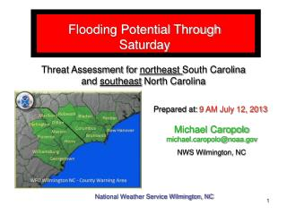 Flooding Potential Through Saturday