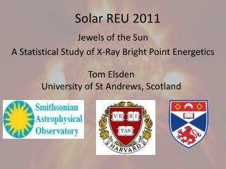 Solar REU 2011
