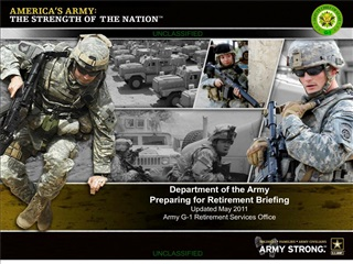 Army Preretirement Briefing