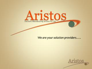 We are your solution providers…..