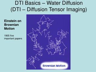 DTI Basics – Water Diffusion (DTI – Diffusion Tensor Imaging)