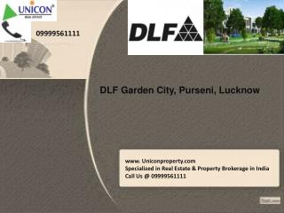 Dlf Garden City @ 09999561111 DLF Garden City Plots in Luckn