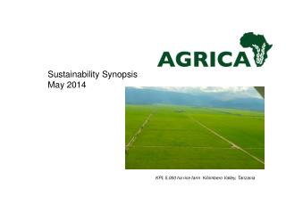 Sustainability Synopsis  May  2014