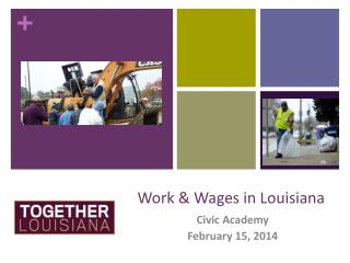 Work & Wages in Louisiana