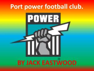 Port power football club.