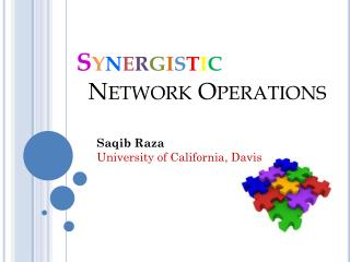 S y n e r g i s t i c Network Operations