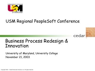 Business Process Redesign & Innovation