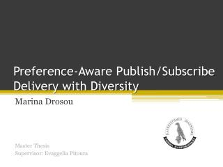 Preference-Aware Publish/Subscribe Delivery with Diversity