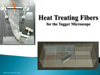 Heat Treating Fibers  for the Tagger Microscope