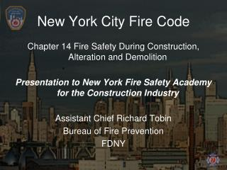New York City Fire Code