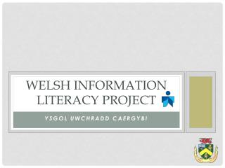 Welsh Information Literacy project