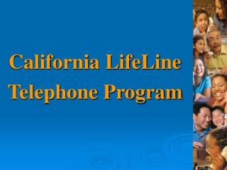 California LifeLine Telephone Program