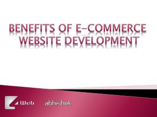 Ecommerce Store Design Company in India