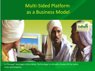 Multi-Sided Platform  as a Business Model