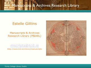 Manuscripts & Archives Research Library
