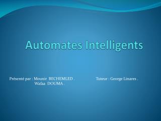 Automates Intelligents