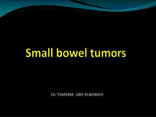 Small bowel  tumors