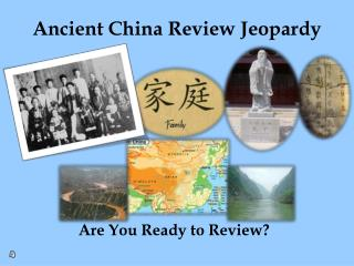 Ancient China Review Jeopardy