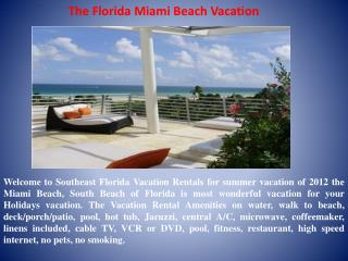 Luxurious Vacation Waterfront Rentals in Florida