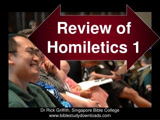 Review of Homiletics  1