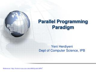 Parallel Programming Paradigm