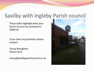Saxilby with Ingleby Parish council