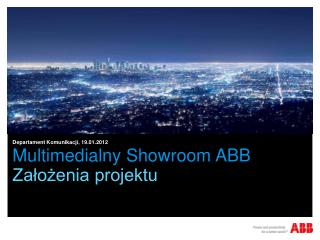 Multimedialny  Showroom  ABB