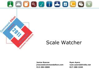 Scale Watcher