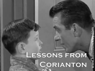 Lessons from  Corianton