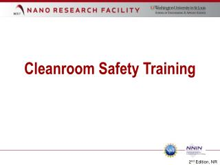 Cleanroom Safety Training