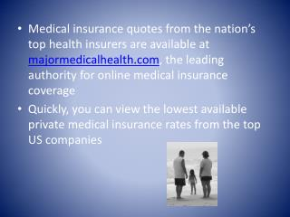Affordable Personal Medical Insurance Plans