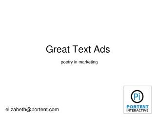 How to Write Great Text PPC Ads