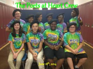 The Poets at Heart Crew