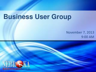 Business User Group