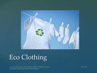 Eco  Clothing