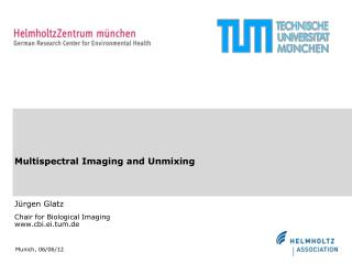 Multispectral Imaging and  Unmixing