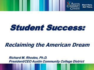 Student Success: