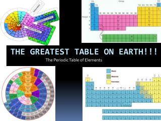 The Greatest Table on Earth!!!