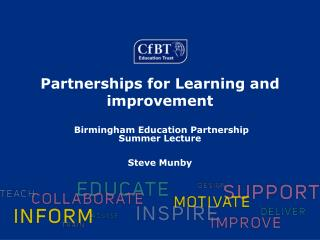 Partnerships for Learning and improvement