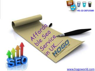 Affordable Seo Service in UK