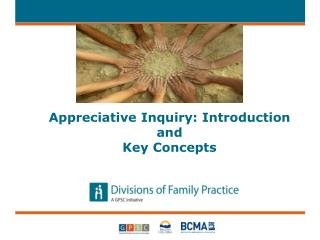 Appreciative Inquiry: Introduction and  Key Concepts