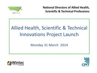 National Directors of Allied Health,  Scientific & Technical Professions